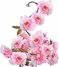 A-szcxtop Künstliche Blumen/Pflanzen aus Seide,