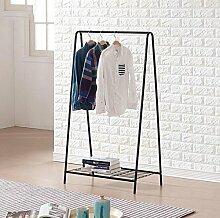 A Typ Trocknen Racks Creative Home Kleiderbügel Kleiderständer (Schwarz / 66 * 38 * 120cm)