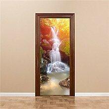 A/X Arabische Fliesen Tür Aufkleber 3D PVC