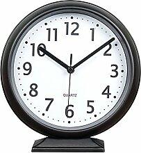 A-ZHP Tischuhren Clock Kamin Uhr 10-Zoll-Mute