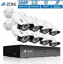 A-ZONE (1920P) Videoüberwachung 5MP