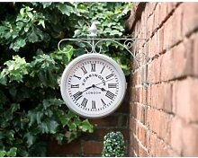 A2Z Home Solutions Amazing Outdoor Wanduhr,