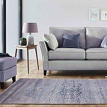 A2Z RUG Luxus Vintage Schatten 5529 Kollektion Bereich Teppiche, Grau & Blau 160x230 cm