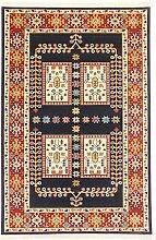 A2Z Rug Persischer Teppiche, Navy Blue 120x170 cm