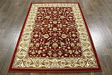 A2Z RUG Traditionelle Persian Pearl Teppich 5,6x 3.9ft rot Orient-Teppich a2zrug