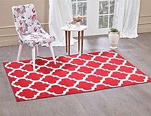 A2Z Teppich Trellis Teppiche rot 160x230 cm Trendy 5309 Kollektion