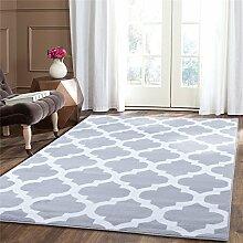 A2Z Teppich Trellis Teppiche silber 120x170 cm Trendy 5309 Kollektion