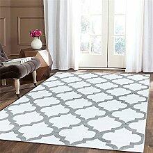 A2Z Teppich Trellis Teppiche weiß 140x200 cm Trendy 5309 Kollektion