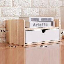 A4 Desktop-Aktenschrank Datenschrank Schublade