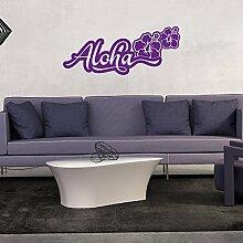 A96 Wandtattoo - Aloha