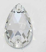 AAAAA Beste Qualität Klarer Kristall AB Teardrop