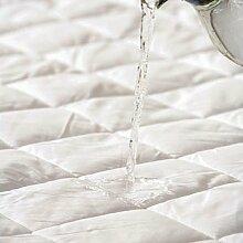 Aaf Textiles Gesteppte Matratze Hülle Schutz Extra Tief All Uk Größen Einzeln,Einzel Doppel,Super King ,4ft,Dreiviertel - Single