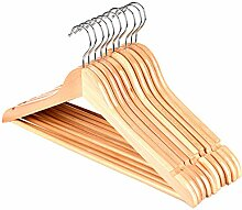 AALIFE Holz Kleiderbügel Hosen Rack Frauen