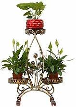 aasdf Pflanzenständer Blumentopf Mehrschichtiger