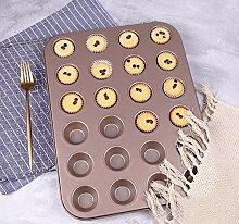 AaSue 6 Mulden Kohlenstoffstahl Donut Muffinform