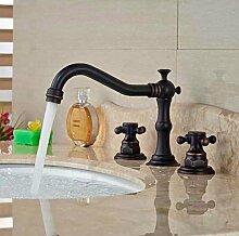 Aawang Bronze Deck Montiert Badezimmer Waschbecken