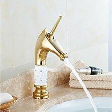 Aawang Klassische Goldene Wasserhähne Badezimmer