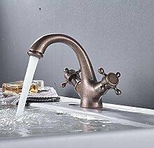 Aawang Neu Stil Badezimmer Waschbecken Wasserhahn