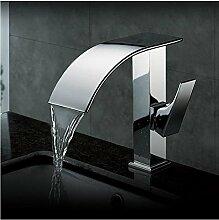 Aawang Zeitgenössische Chrom Wasserfall Bad