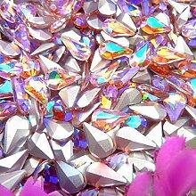 AB Farben 3 * 6mm 6 * 10mm 8 * 13mm Wassertropfen
