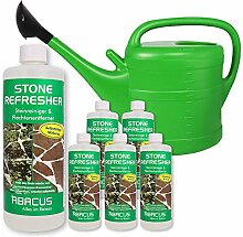 ABACUS 6X 1000 ml Stone Refresher + 14 Liter