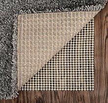 abahub rutschfeste Teppich Pad für unter Bereich