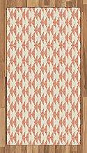 Abakuhaus Abstrakt Teppich, Dreiecke mit Streifen,