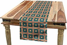 ABAKUHAUS Abstrakt Tischläufer, Floral antike