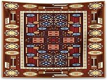 ABAKUHAUS afghanisch Wandteppich und Tagesdecke,