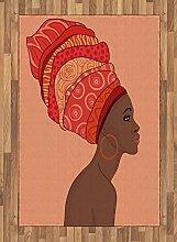 Abakuhaus afrikanische Frau Teppich, Junges