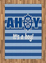 Abakuhaus Ahoy Its a Boy Teppich, Neues