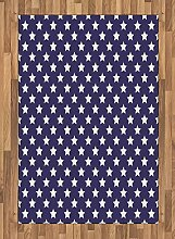Abakuhaus amerikanisch Teppich, Flaggensymbol mit