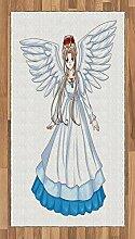Abakuhaus Anime Teppich, Cartoon mit