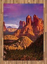 ABAKUHAUS Arizona Teppich, Cliffs Rock und Violet