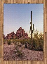 ABAKUHAUS Arizona Teppich, Hill Formationen Im