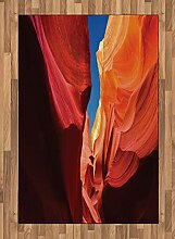 ABAKUHAUS Arizona Teppich, Leuchtende Tone