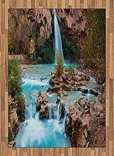 ABAKUHAUS Arizona Teppich, Natural Spring Fälle