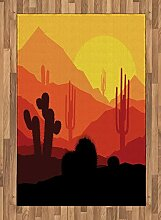 ABAKUHAUS Arizona Teppich, Western-Kaktus