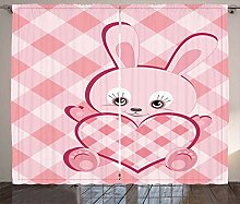 ABAKUHAUS Baby Rustikaler Vorhang,