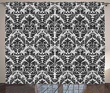 ABAKUHAUS Barock- Rustikaler Vorhang, Vintage