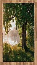 ABAKUHAUS Baum Teppich, Stream Mystic Nebelige