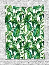 ABAKUHAUS Blatt Wandteppich, Watercolored