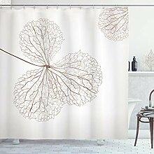 ABAKUHAUS Blume Duschvorhang, Natürliche