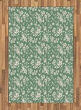 ABAKUHAUS Blumen Teppich, Viktorianischer