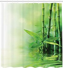 Abakuhaus Duschvorhang, Bambus Welche auf Das