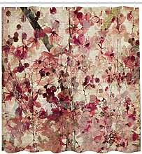 Abakuhaus Duschvorhang, Kirschblüten auf