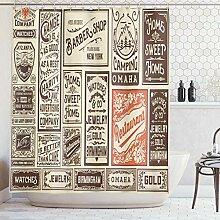 ABAKUHAUS Duschvorhang, Kollektion von Werbungen