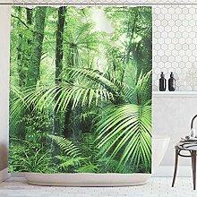 ABAKUHAUS Duschvorhang, Palmen und Exotische
