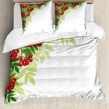 ABAKUHAUS Eberesche Bettwäsche Set für