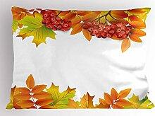ABAKUHAUS Eberesche Kissenbezug, Herbst Zweige